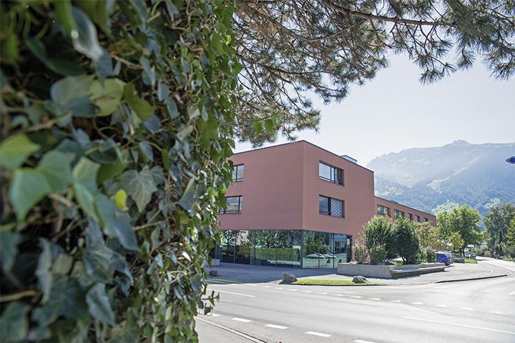 Gebäude der Stiftung arwole