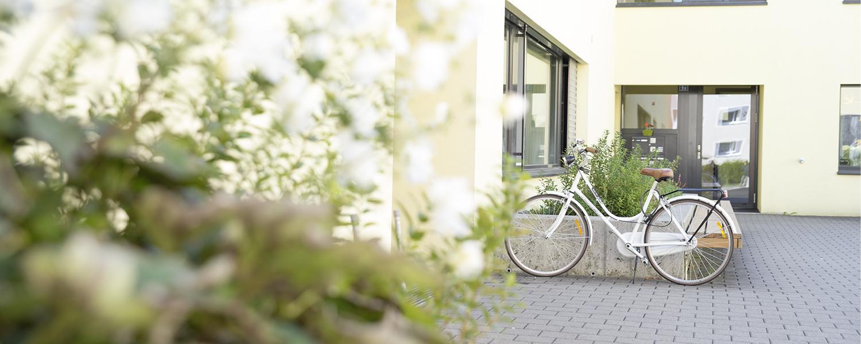 Fahrrad der Stiftung arwole