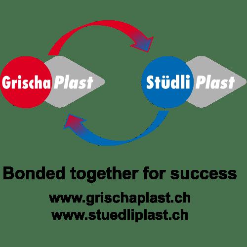 Grischa-Plast Logo / Stüdli Plast Logo